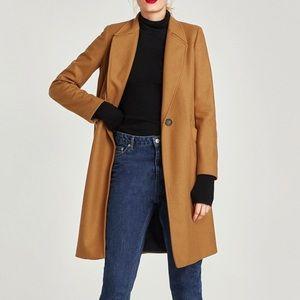 Zara masculine wool coat.